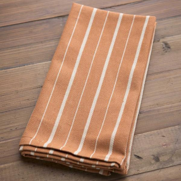 Cinnamon Ticking Napkin