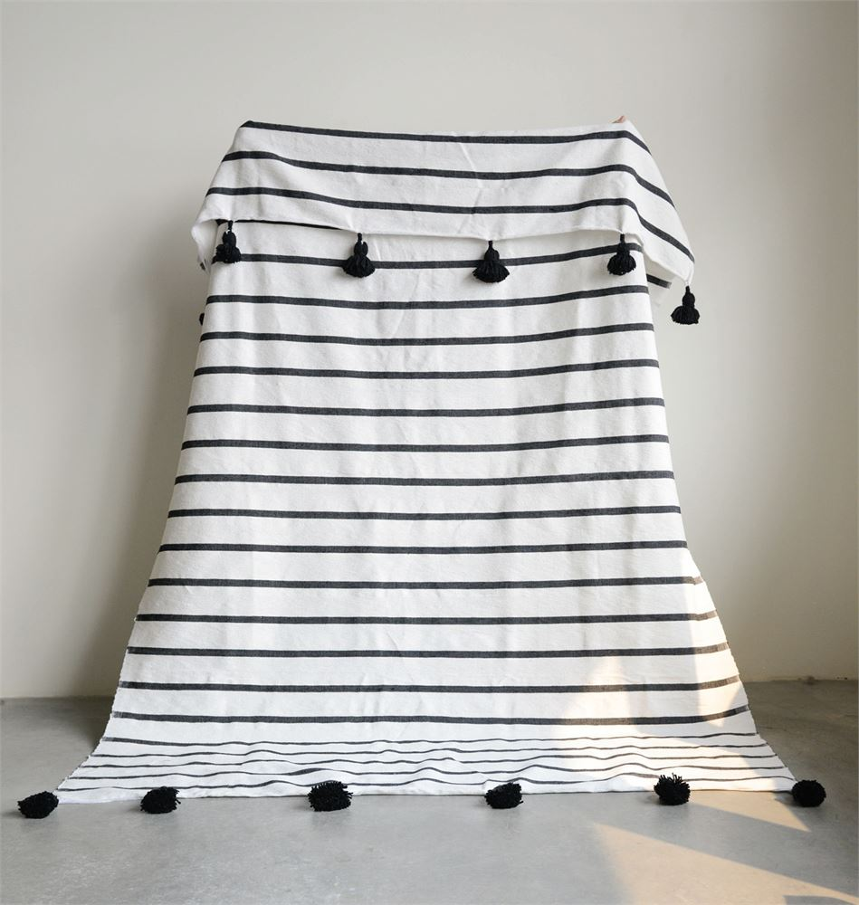 Tassel Bed Cover