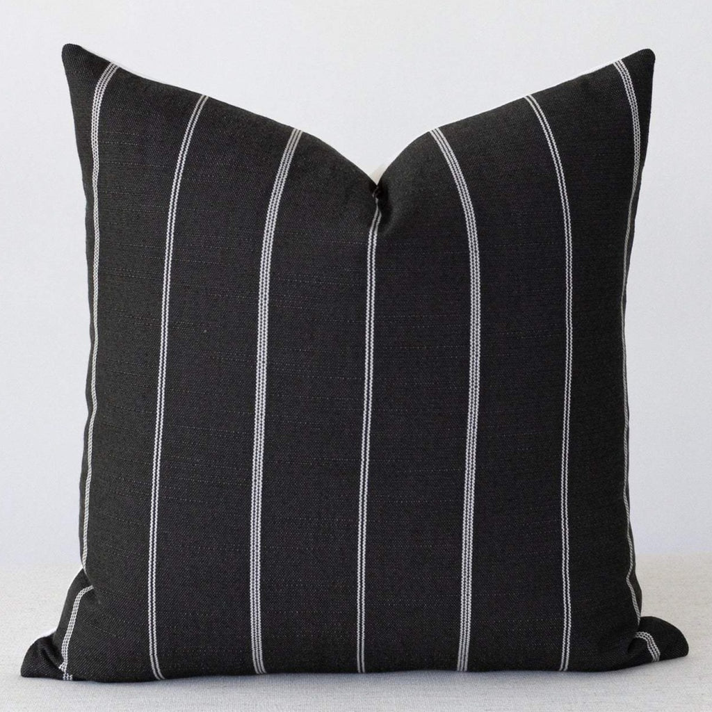 Charcoal Grey Pillow Cover