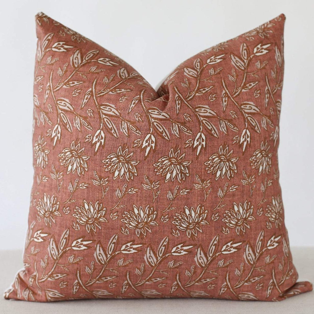 Terra Cotta Pillow Cover