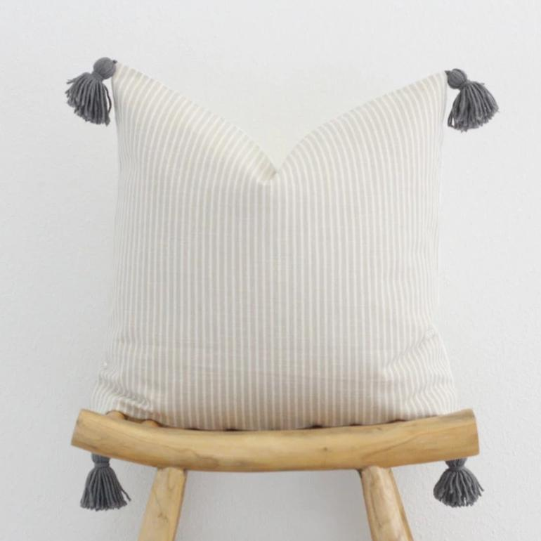 Sadie Stripe Pillow Cover