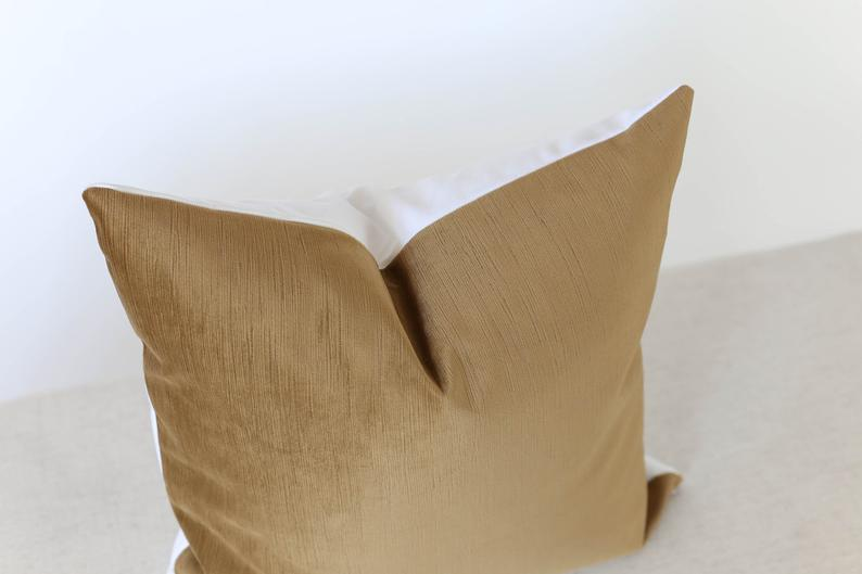 Caramel Pillow Cover