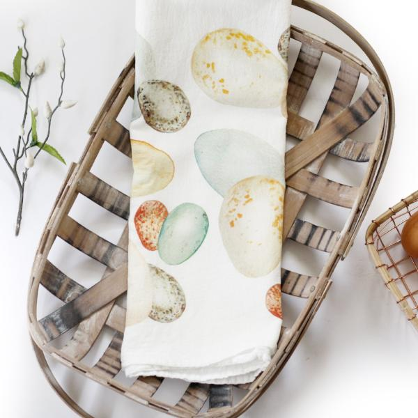 Egg Tea Towel