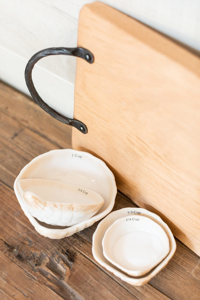 Sea Shell Measuring Cups