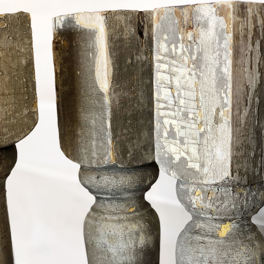 Salvaged Spindles