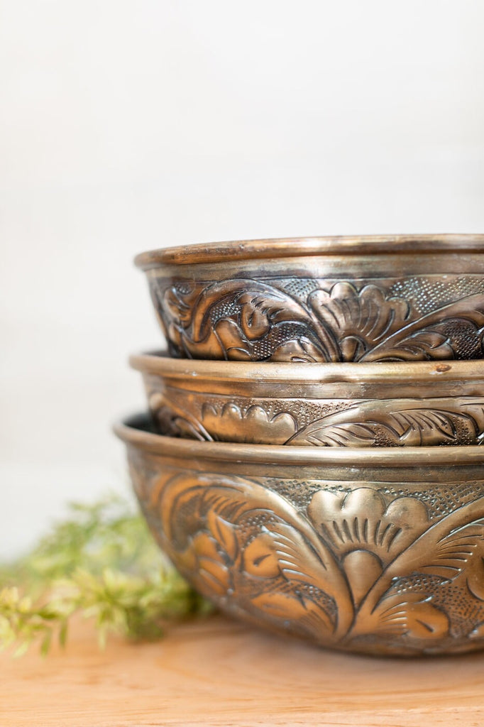 Antique Finished Bowl Set
