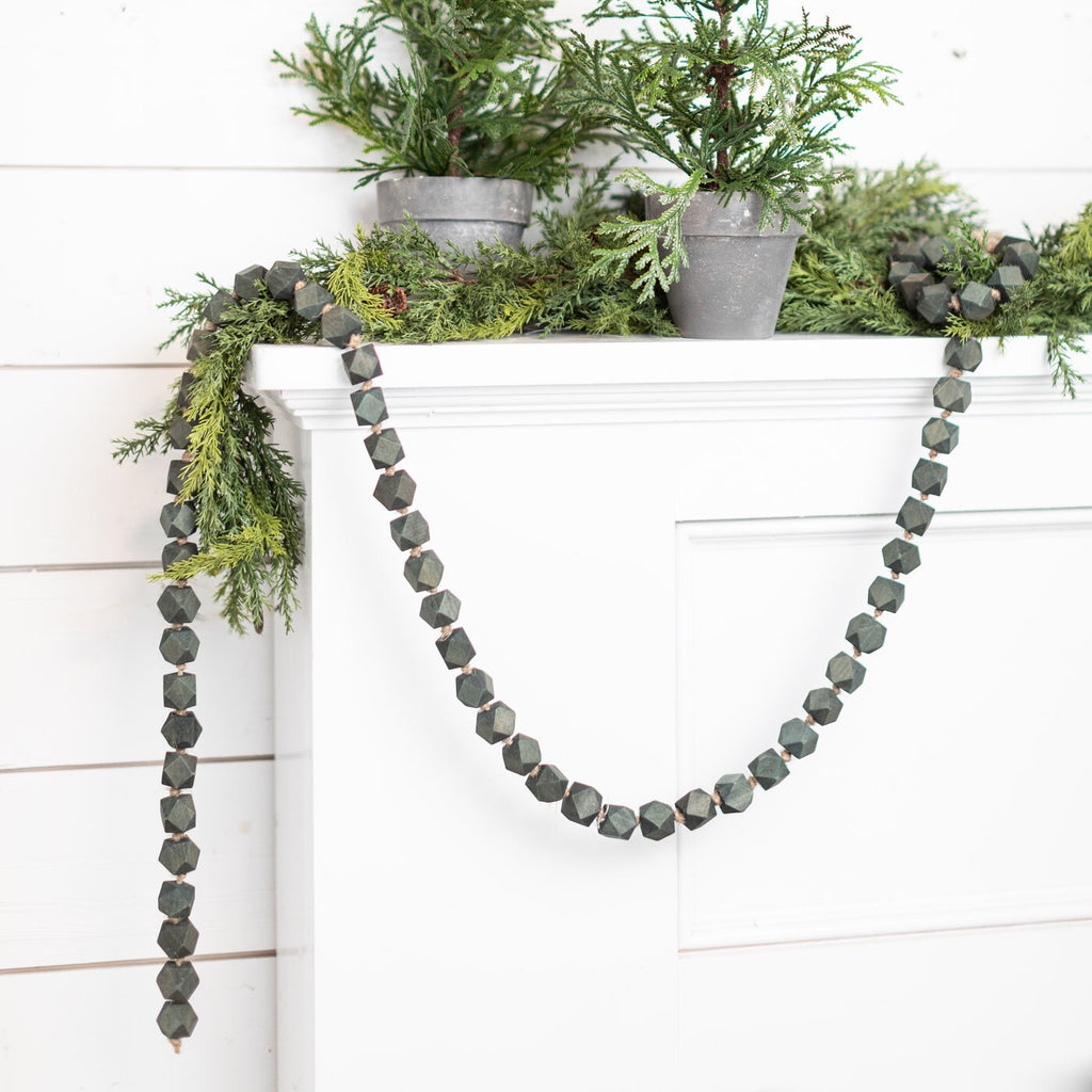 Black Bead Garland