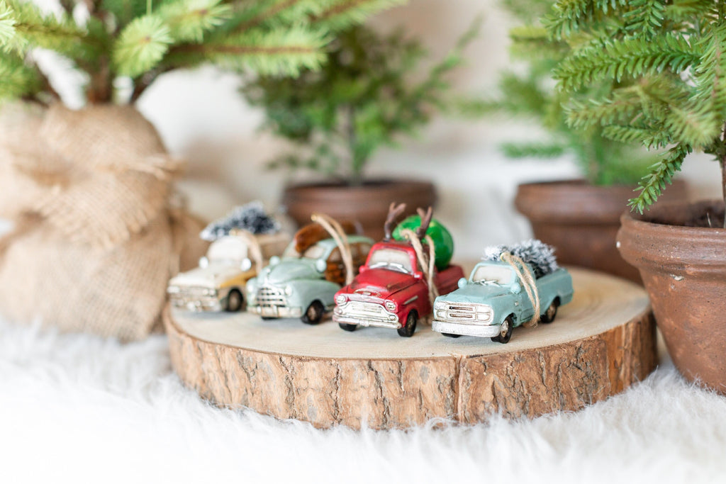 Automobile Ornament Set