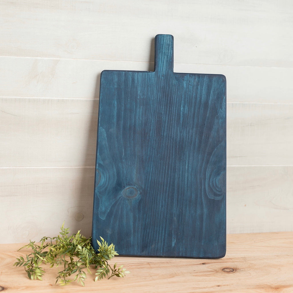 Rustic Cutting Board in Blue