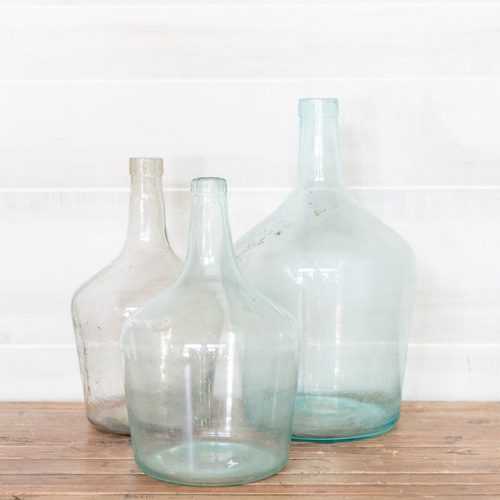 Antique French Demijohns