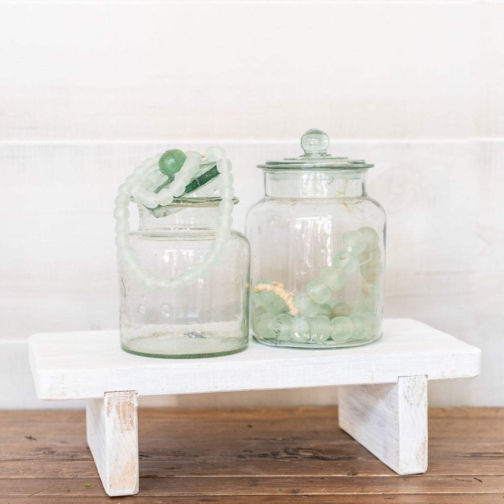Vintage Glass Canister
