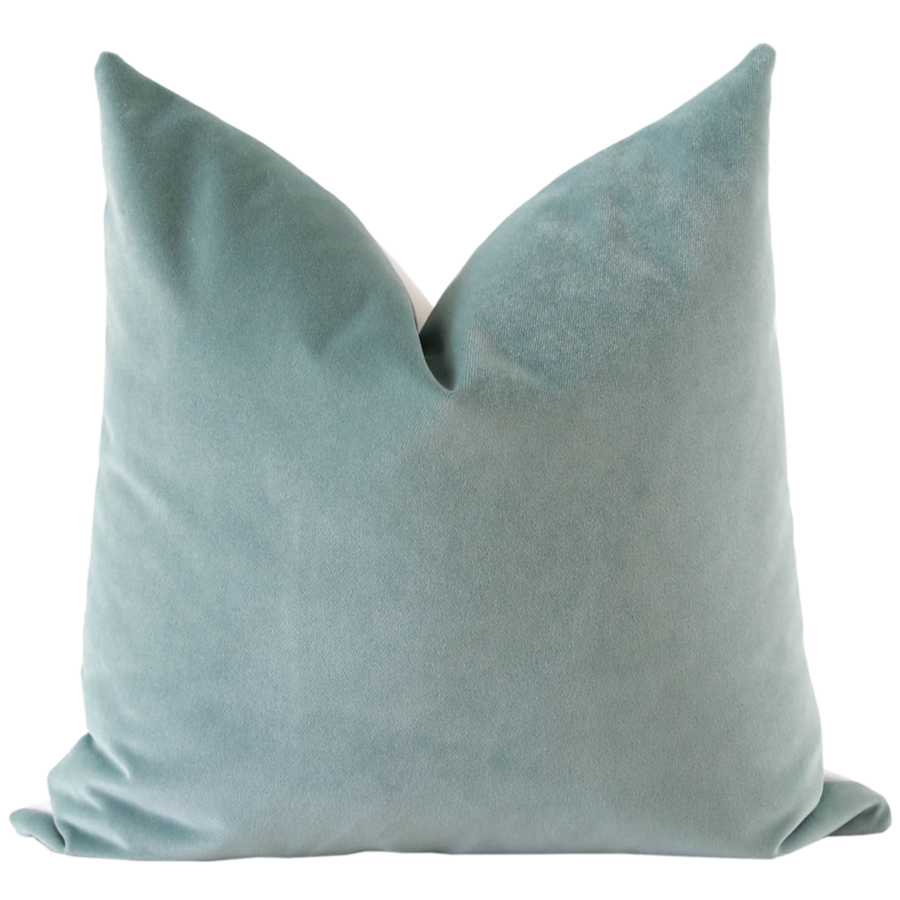Mineral Velvet Pillow Cover