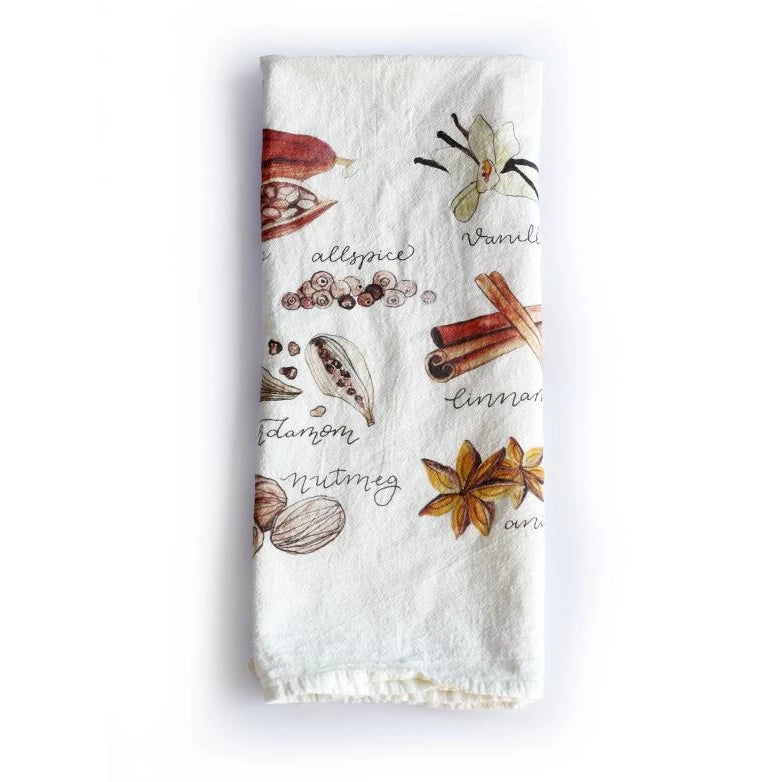 Spices Tea Towel