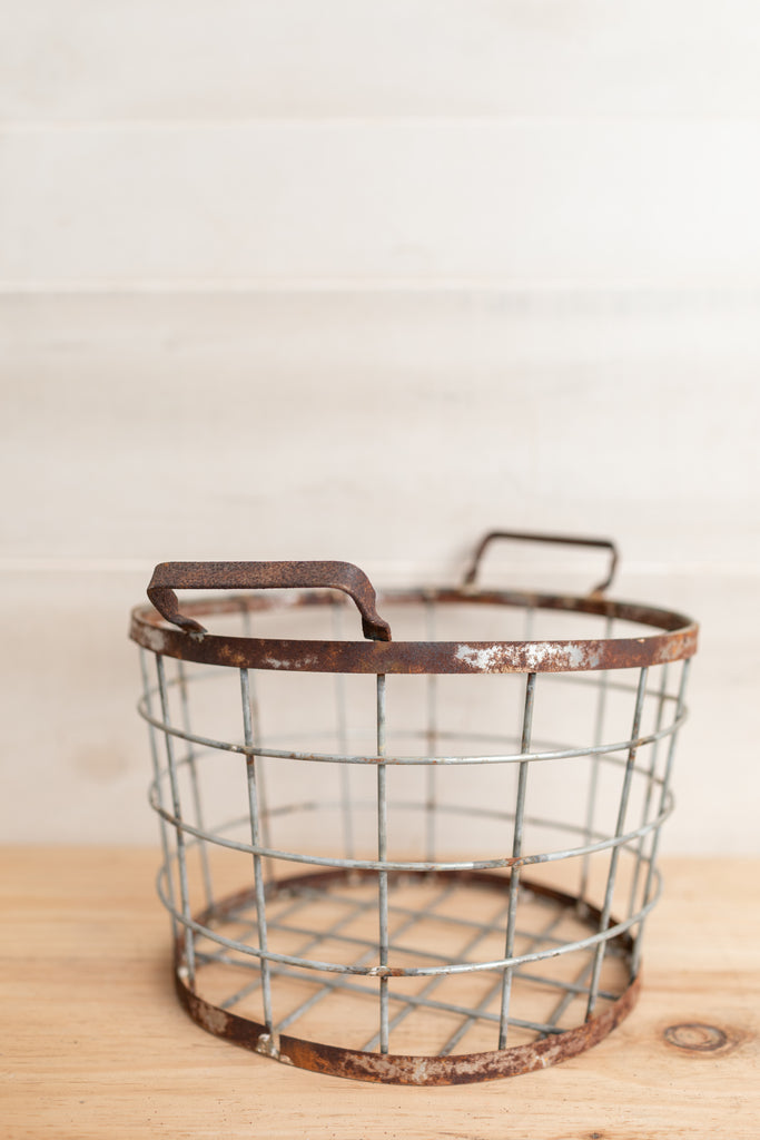 Farmhouse Wire Basket