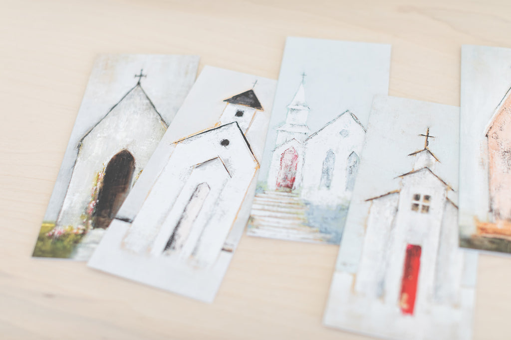 Assorted Vintage Church Cards