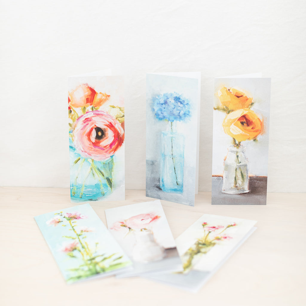 Mixed Floral Cards