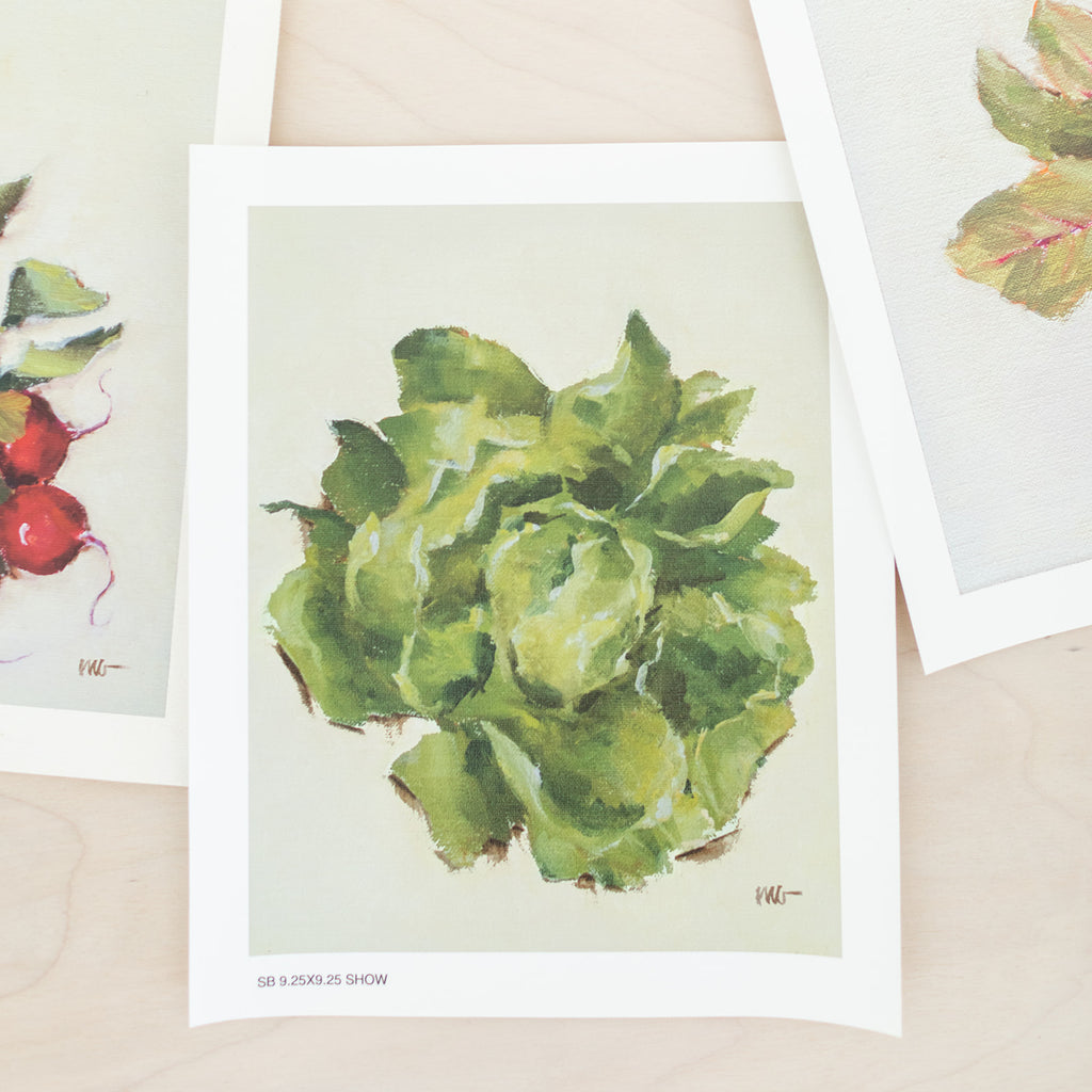 Vegetable Print Set