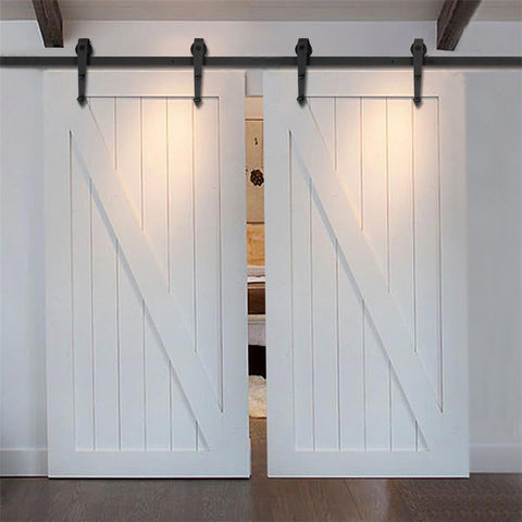 Barn Door Hardware Arrow Double