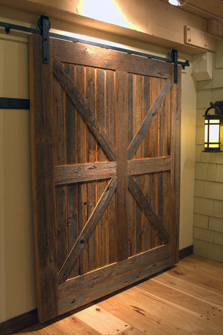 Barn Door Hardware Big Stained Door