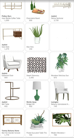 Design Sheet (Furniture and Accessories)