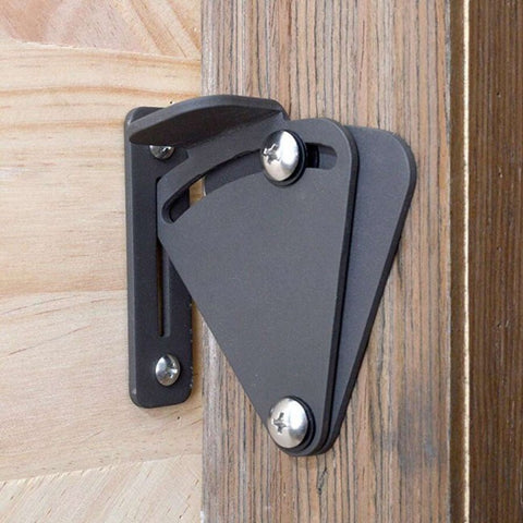 Barn Door Latch Black