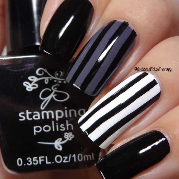 Clear Jelly Stamper Polish - CJS001 More Like 1 AM 5ml