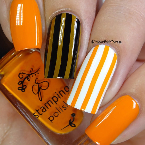 Clear Jelly Stamper Polish - CJS22 Clementine