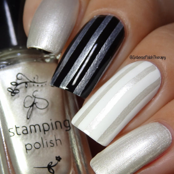 Clear Jelly Stamper Polish - CJS34 Angelic White 5ml