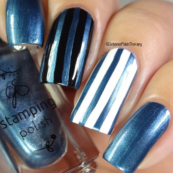 Clear Jelly Stamper Polish - CJS36 Midnight Rendezvous