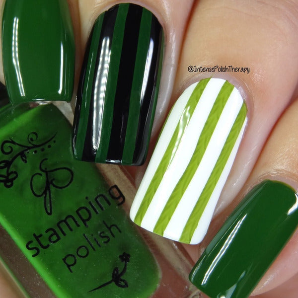 Clear Jelly Stamper Polish -CJS38 Mystic Moss