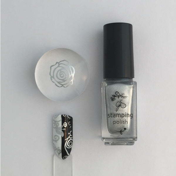 Clear Jelly Stamper Polish - CJS004 Steal the Show 5ml (1332547256399)