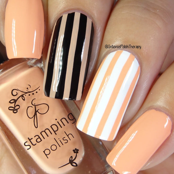 Clear Jelly Stamper Polish - #65 Bambina Peach