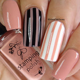 Clear Jelly Stamper Polish - #75 Everything's Rosy (1317435998287)