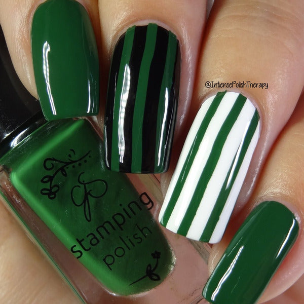Clear Jelly Stamper Polish - CJS77 Lush Leaf
