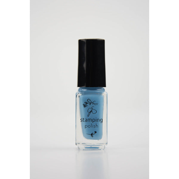 Clear Jelly Stamper Polish - #73 Blue Bell