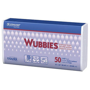 Graham Beauty Wubbies Disposable Towels
