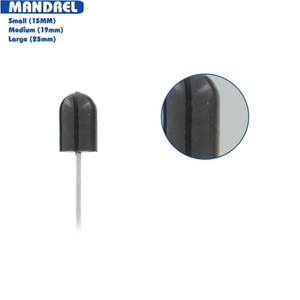 Medicool Mandrel - Rubber Pedicure (4600200006)
