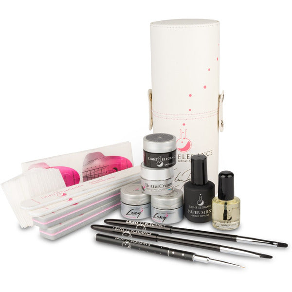 Light Elegance Brush - The Celina Ryden Smoky Quartz Art Kit and Instruction Video Bundle