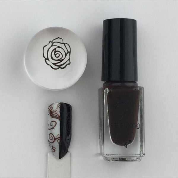 Clear Jelly Stamper Polish - CJS23 Pure Cocoa