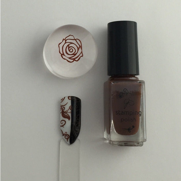 Clear Jelly Stamper Polish - CJS31 You Had Me At Chocolate