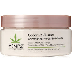 Hempz - Coconut Fusion Herbal Shimmering Body Souffle