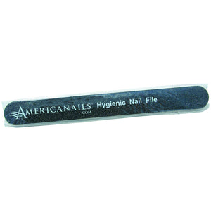 Americanails Black Files - 80/80 - 20 pack (120646991878)