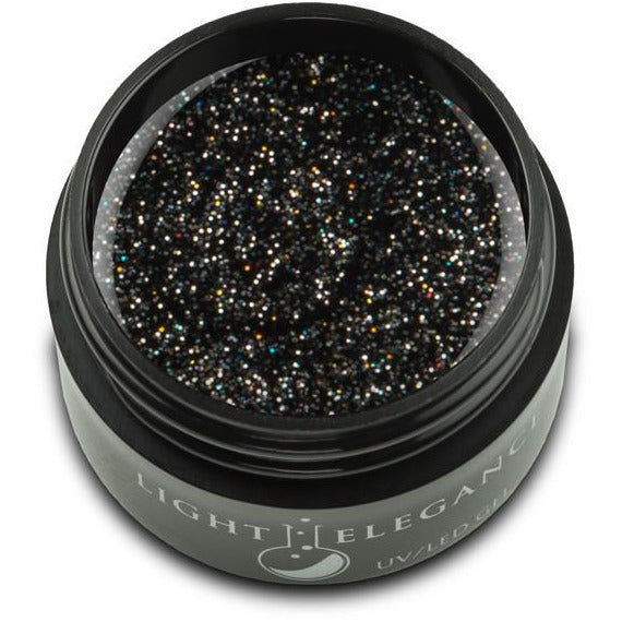 Light Elegance Glitter Gel - Black Diamond LED/UV
