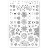 Clear Jelly Stamper Plate - Diamonds in Ice (SEASONAL) (2359085006927)