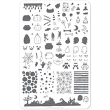 Clear Jelly Stamper Plate - Witches Brew (SEASONAL) (1487409250383)