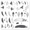 Clear Jelly Stamper Plate - Birds of a Feather