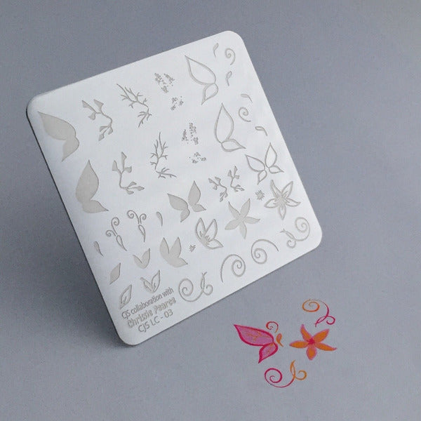 Clear Jelly Stamper Plate - Chrissie Pearce's Butterfly