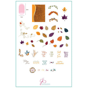 Clear Jelly Stamper Plate - Forever Autumn (1370741604431)