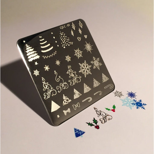 Clear Jelly Stamper Plate - Christmas Tree (SEASONAL)