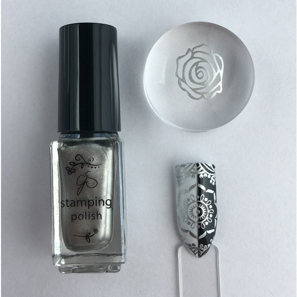 Clear Jelly Stamper Polish - #45 Molten Alloy
